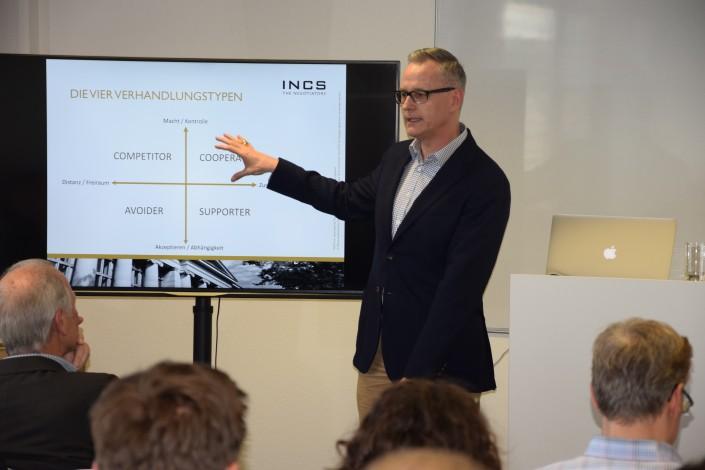 Dieses Foto zeigt Referent Stefan Kühn, MSc(Harvard) und Partner der INCS AG.